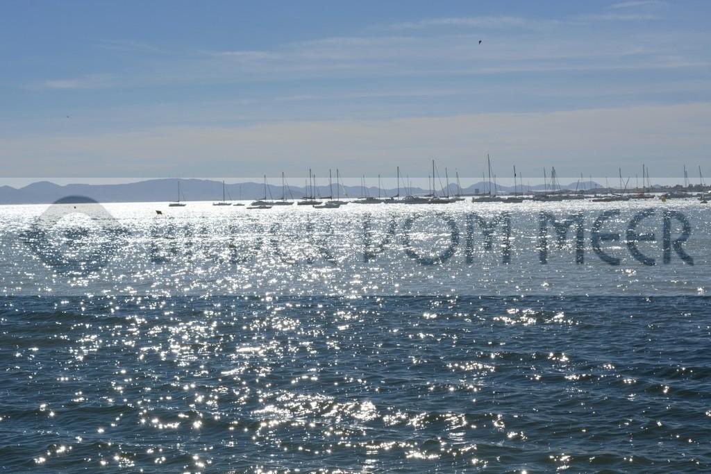 Bilder vom Meer | Das Glitzern der Sonne im Mar Menor, Spanien