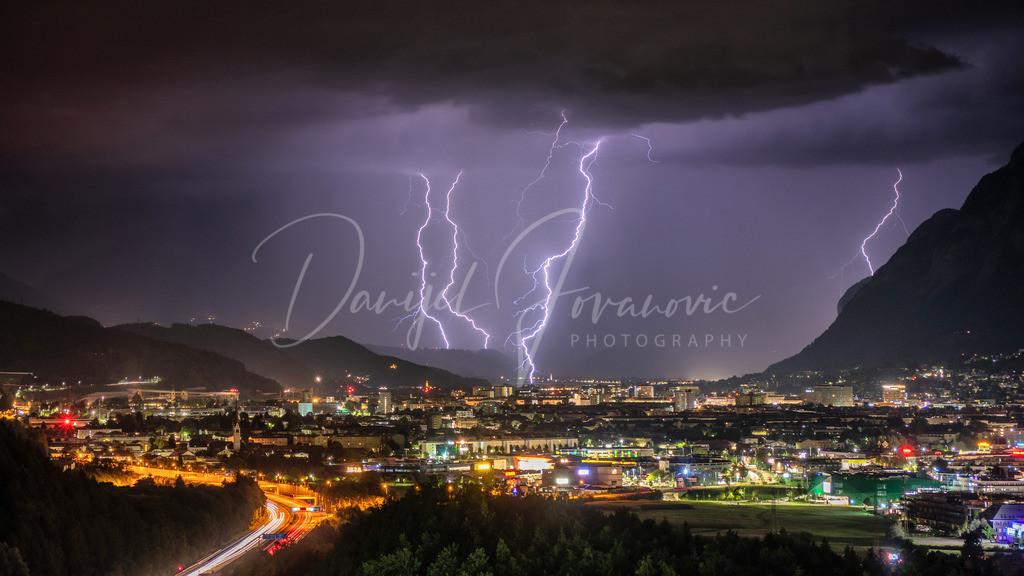 Gewitter Innsbruck | Gewitter über Innsbruck