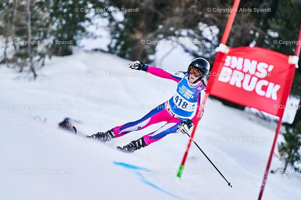 ALS5778_WWMG_GS-II_C | (C) FotoLois.com, Alois Spandl, WinterWorldMastersGames 2020 Innsbruck, Giant Slalom-II Gruppe C Damen, Patscherkofel Olympiaabfahrt, Mi 15. Jänner 2020.