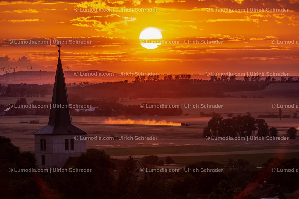 10049-12282 - Abendstimmung bei Eilenstedt