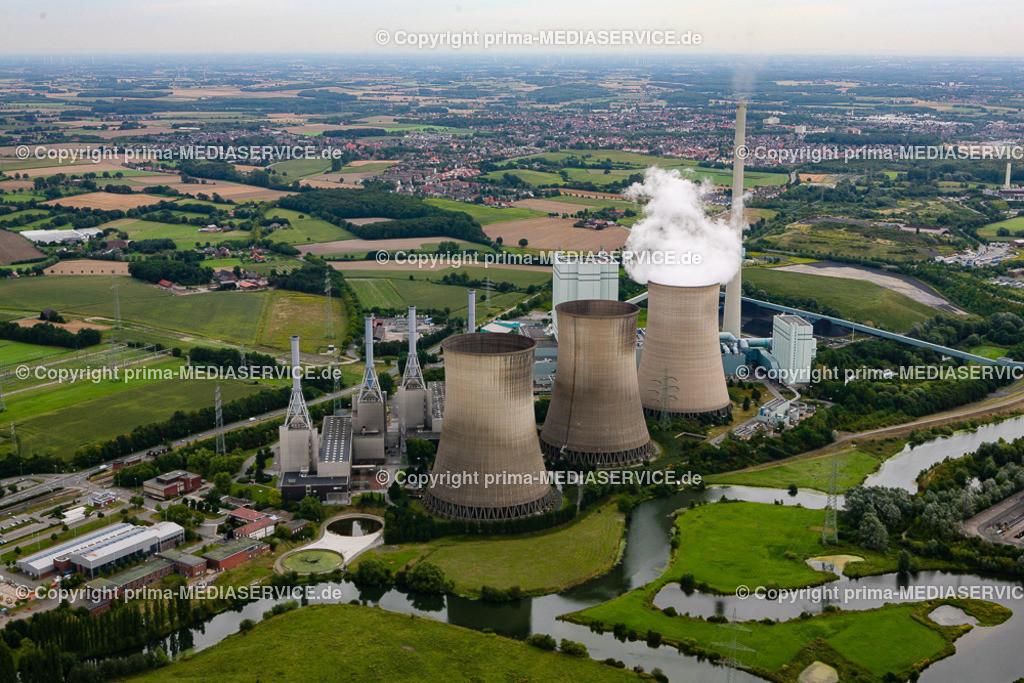 2012-08-28 Fotoflug Hamm | Luftbildflug Dienstag, 28. August 2012 Deutschland, Nordrhein-Westfalen, Hamm, Herringer Heide, Gersteinkraftwerk. Foto: Michael Printz / PHOTOZEPPELIN.COM