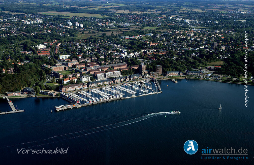 Luftbild Flensburger Foerde, Sonwik, Foerdepromenade | Flensburger Foerde, Sonwik, Foerdepromenade • max. 6240 x 4160 pix