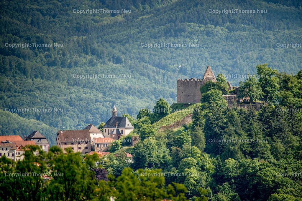 Lindenfels_Fernblick-10 Kopie | Odenwald,Lindenfels,Burg, Wald,Perle des Odenwaldes, Bild: Thomas Neu