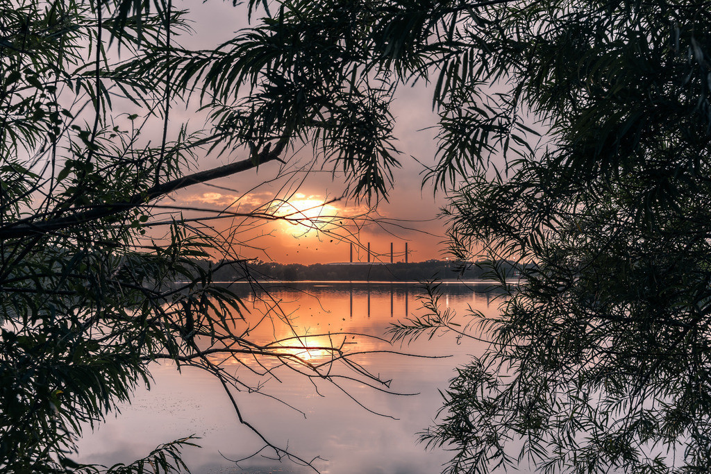 Allersee Sunset