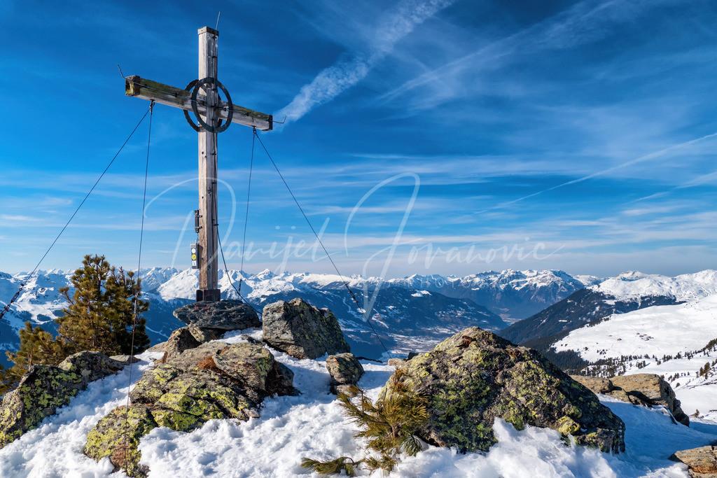 Karspitze | Karspitze mit Blick ins Zillertal und bis zum Inntal