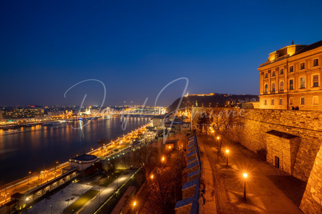 Budapest | Blick von Buda auf die Donau