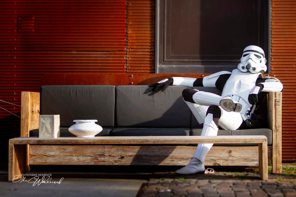 Stormtrooper No 1 | ... nicht immer