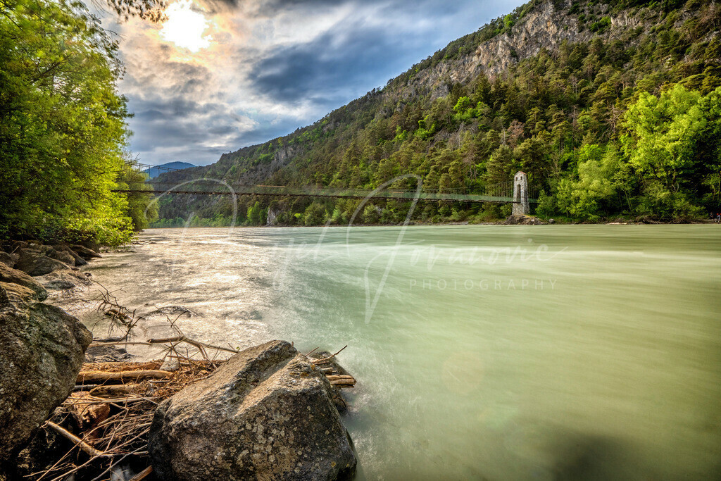 Hängebrücke | Stamser Hängebrücke