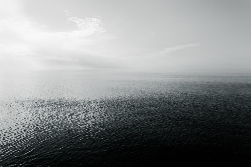 Baltic sea | Blick auf die stille Ostsee.