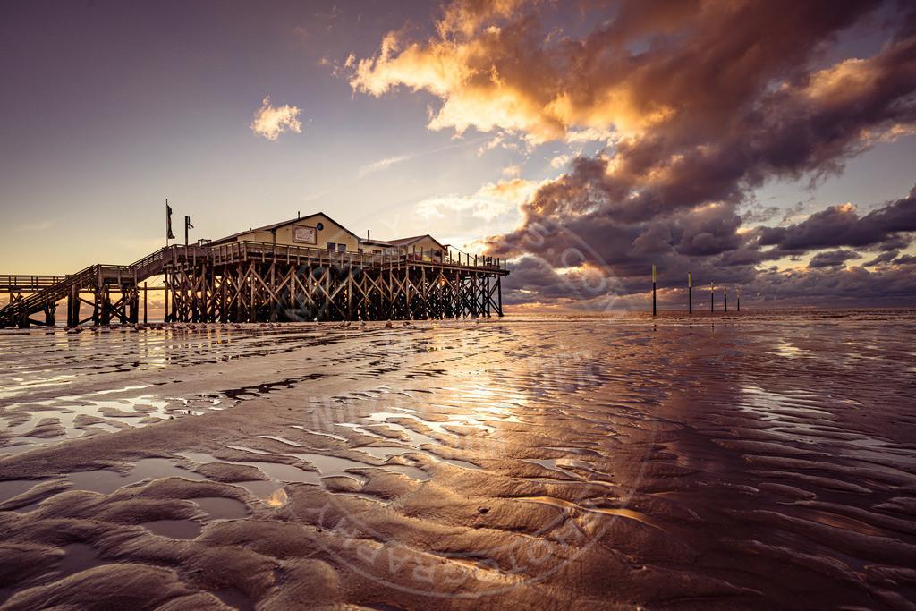 fotograf sankt peter-ording mobbys-pics.comDSC00163 | Wenn die Sonne im Meer versinkt