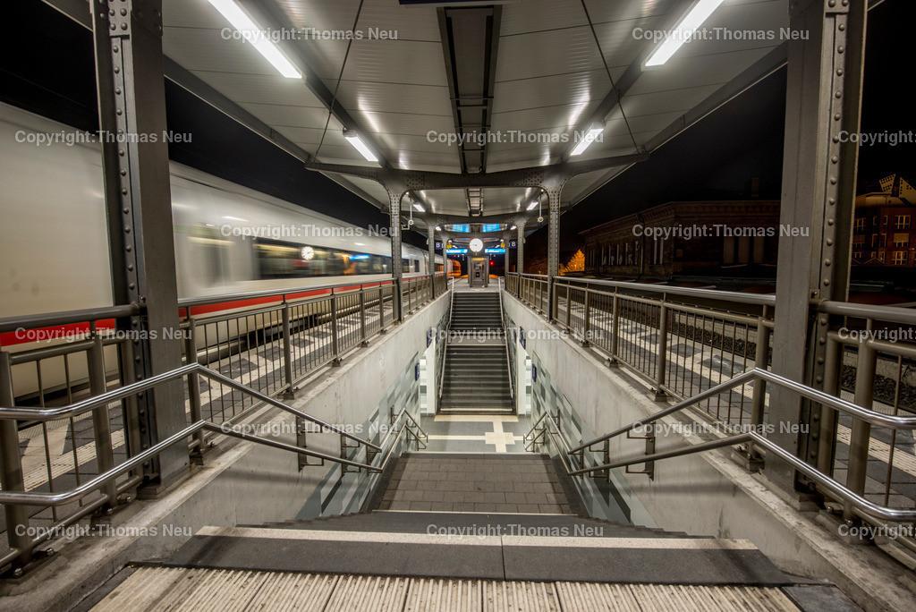 Bahnhof-79 | Bensheim,Bergstrasse bei nacht, Bensheim Bahnhof, ,, Bild: Thomas Neu