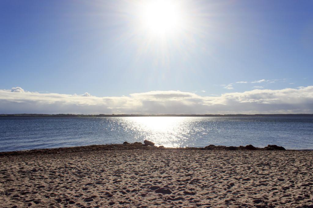 Strand in Karlsminde | Strand in Karlsminde im Herbst