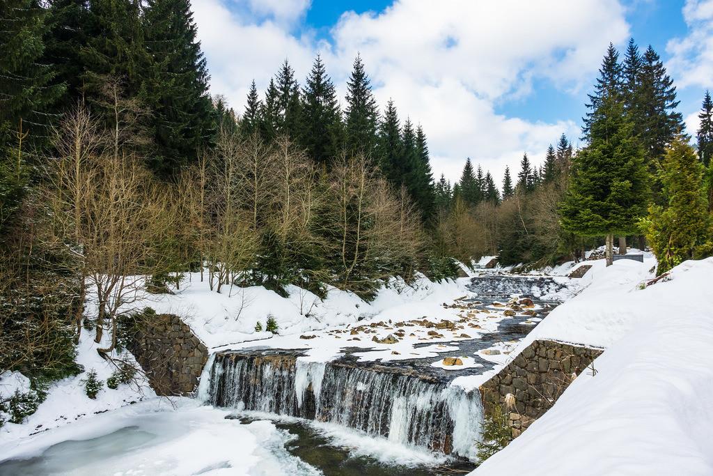 rk_05119 | Winter im Riesengebirge bei Spindlermühle, Tschechien.