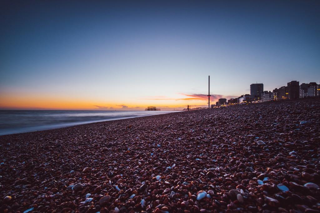 Brighton | New Brighton Tower, Brighton, England, Südküste