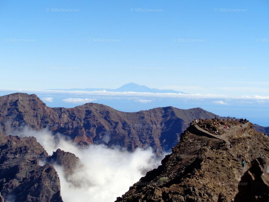 DSC00321 | Die Caldera de Taburiente mit dem Teide von Teneriffa