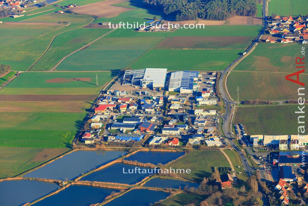 weisendorf-2015-3055   Luftbild von  Weisendorf - Luftaufnahme wurde 2015 von https://frankenair.de mittels Flugzeug (keine Drohne) erstellt - die Geschenkidee