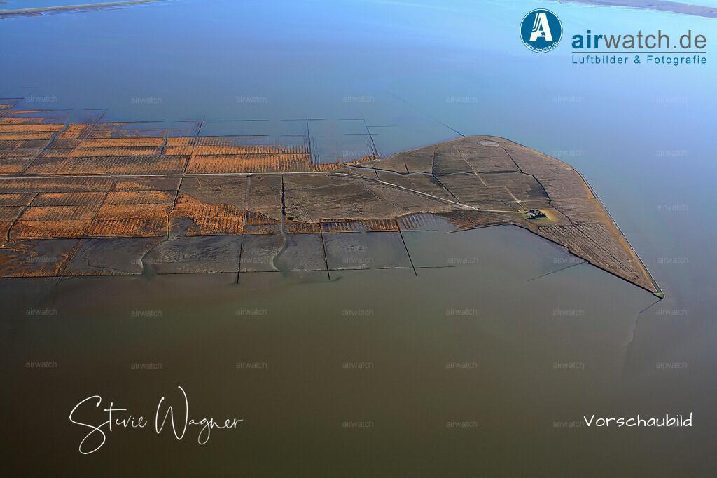 Die Hamburger Hallig liegt mitten im Schleswig-Holsteinischem Nationalpark Wattenmeer | Nordsee, Hamburger Hallig, Luftbild, Luftaufnahme, aerophoto, Luftbildfotografie, Luftbilder 4272 x 2848 pix