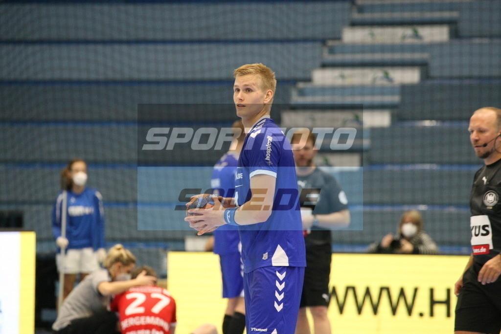VFL Gummersbach - HSV Hamburg | Ellidi Vidarsson - © by Sportfoto-Sale.de