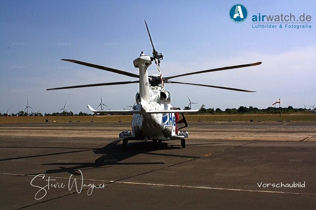 Flughafen Husum, HeliService, Leonardo AW139, D-HHXH | Flughafen Husum, HeliService, Leonardo AW139 • max. 4272 x 2848 pix