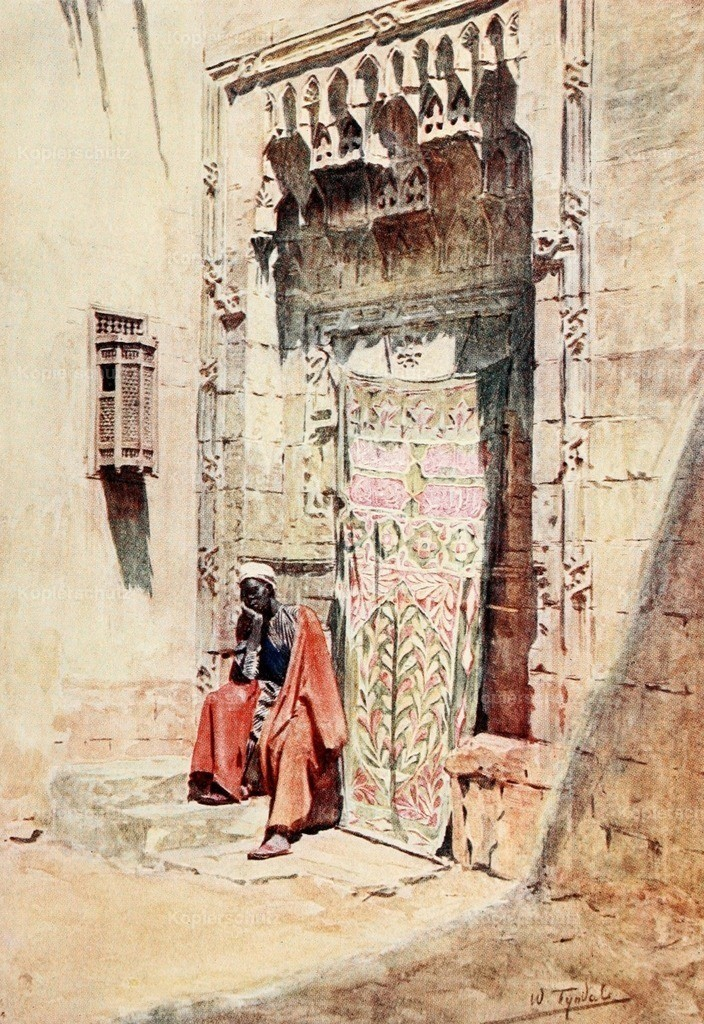 Tyndale_ W. (1855-1943) - Below the Cataracts 1907 - The guardian of the hareem