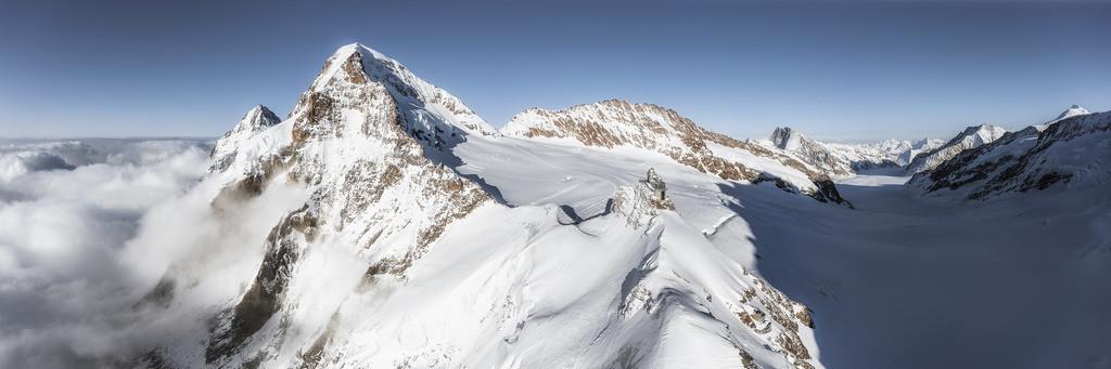 Jungfraujoch Panorama