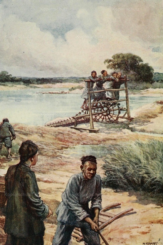 Hardy_ Norman H. (1864-1914) - China 1910 - A waterwheel