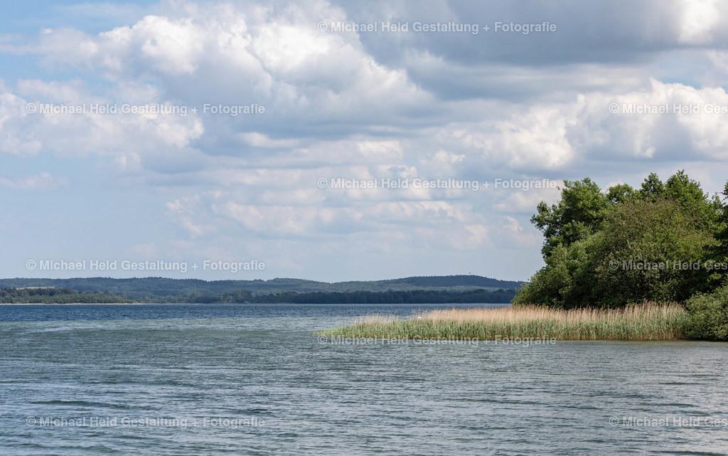 Sommer am See | Von der Badestelle Moltörp bei Selent hat man einen tollen Blick auf den Selenter See