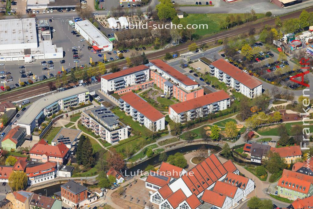 luftbild-kulmbach-2016-6448   Luftbild von  Kulmbach - Luftaufnahme wurde 2016 von https://frankenair.de mittels Flugzeug (keine Drohne) erstellt - die Geschenkidee