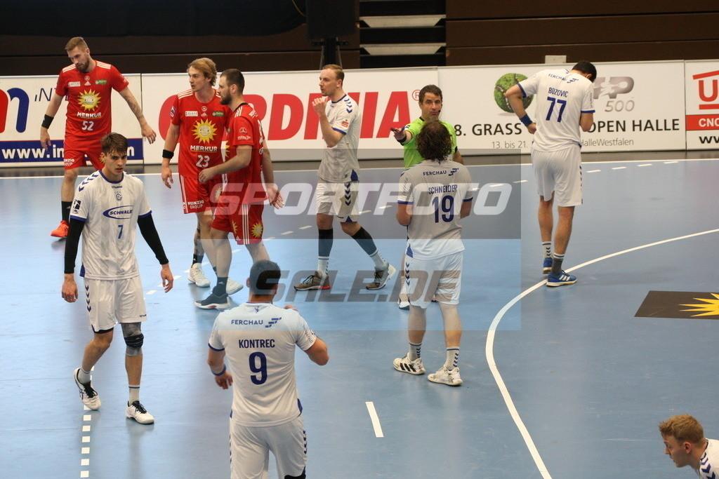 TUS N. Lübbecke - VFL Gummersbach | Spielszene - © by K-Media-Sports / Sportfoto-Sale.de
