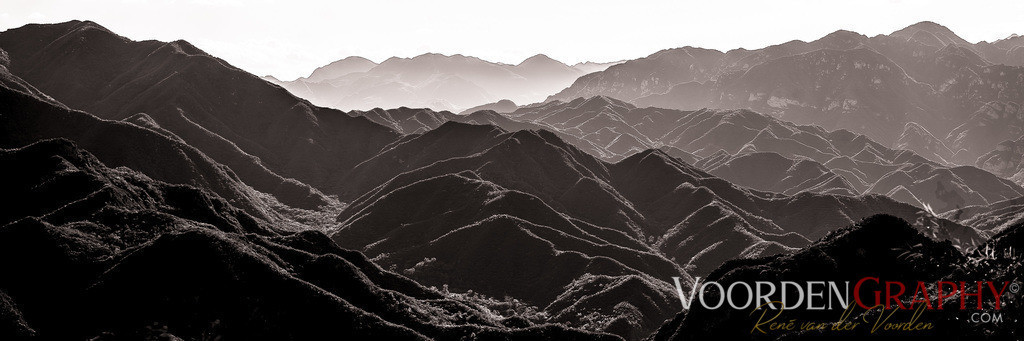 Blick von der chinesischen Mauer
