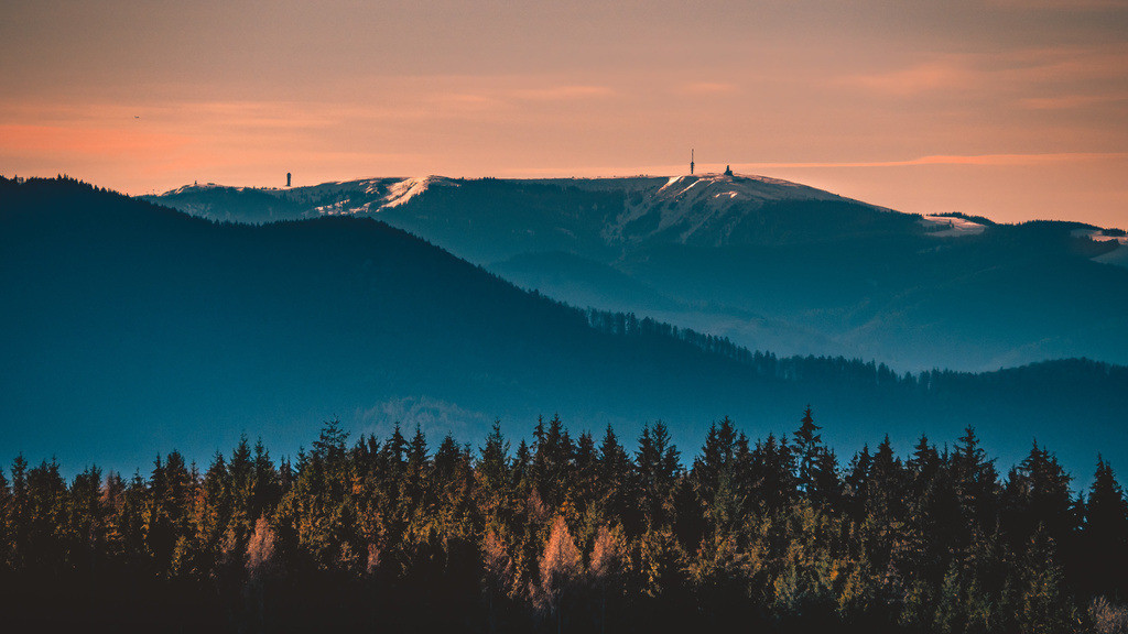 Schwarzwald | Blick auf den Feldberg