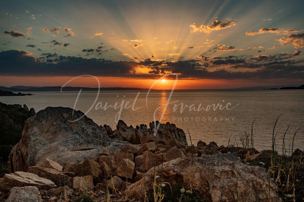 Sardinia Sunset | Sonnenuntergang im Norden von Sardinien