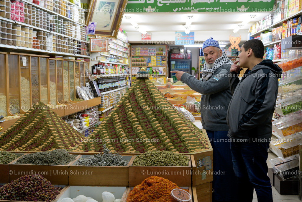 10972-10064 - Markt in Jerusalem