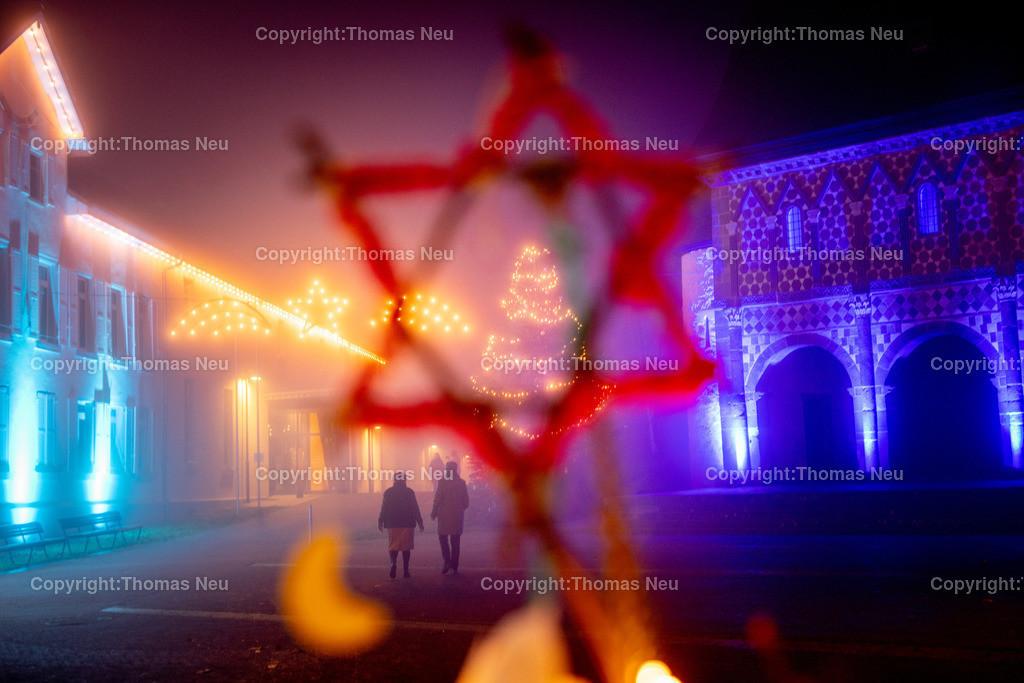 DSC_3922 | ble,Lorsch, blaues Weihnachtswunder, Innenstadt, ,, Bild: Thomas Neu