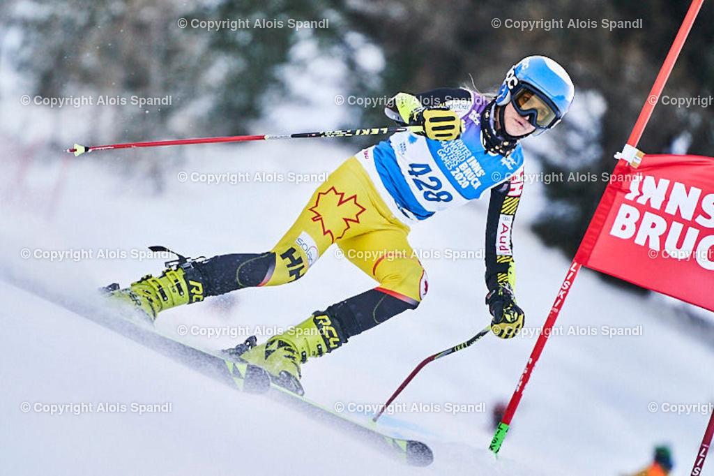 ALS5823_WWMG_GS-II_C   (C) FotoLois.com, Alois Spandl, WinterWorldMastersGames 2020 Innsbruck, Giant Slalom-II Gruppe C Damen, Patscherkofel Olympiaabfahrt, Mi 15. Jänner 2020.
