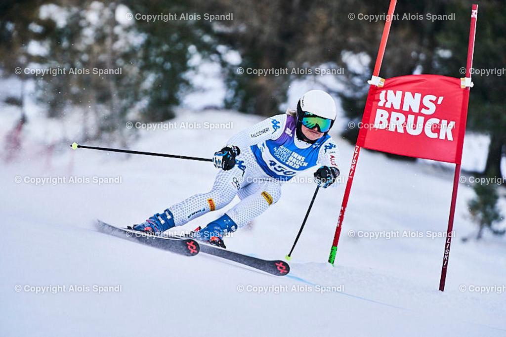 ALS5921_WWMG_GS-II_C | (C) FotoLois.com, Alois Spandl, WinterWorldMastersGames 2020 Innsbruck, Giant Slalom-II Gruppe C Damen, Patscherkofel Olympiaabfahrt, Mi 15. Jänner 2020.
