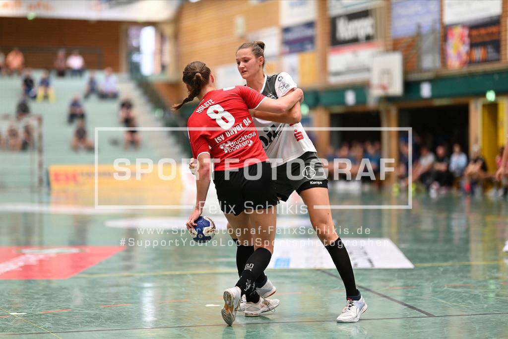 FZ6_0710 | ; Handball I Testspiel I Buxtehuder SV - TSV Bayer 04 Leverkusen am 01.08.2020 in Buxtehude  (Halle Nord), Deutschland