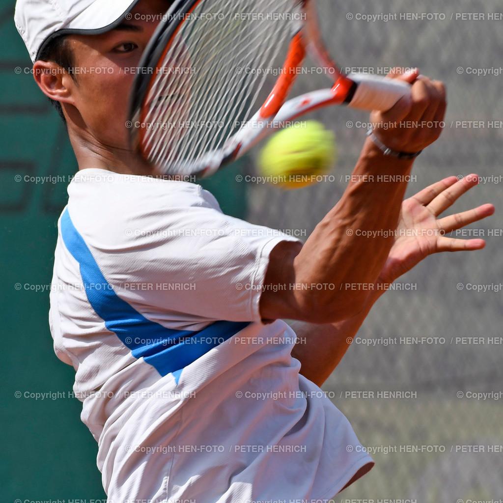 Tennis Herren Gruppenliga TCB 2000 Darmstadt - TB Crumstadt 20190825 copyright by HEN-FOTO | Tennis Herren Gruppenliga TCB 2000 Darmstadt - TB Crumstadt 20190825 Aaron Chan (DA) copyright by HEN-FOTO Foto: Peter Henrich