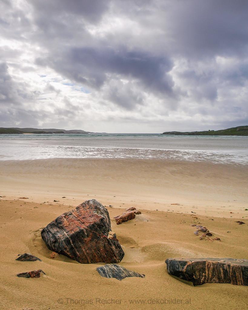 _6182990 | Schottland 2009 - einsamer Strand auf den Hebriden.