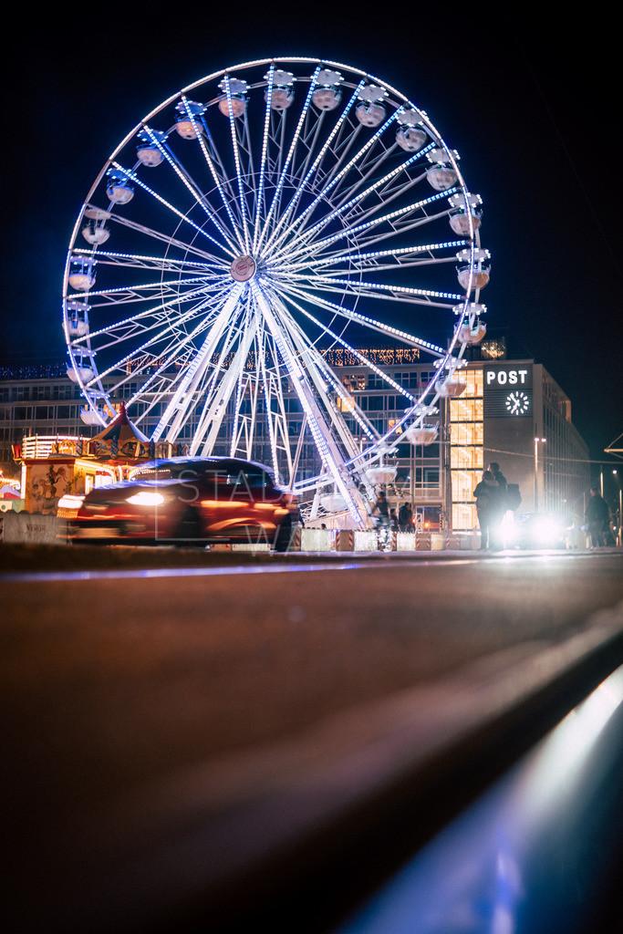 Riesenrad Licht 4