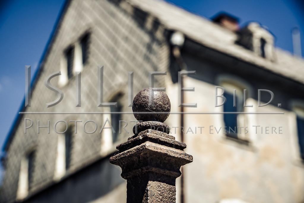 Röslau - Mittelpunkt des Fichtelgebirges | Ein altes Bauernhaus am Dorfberg