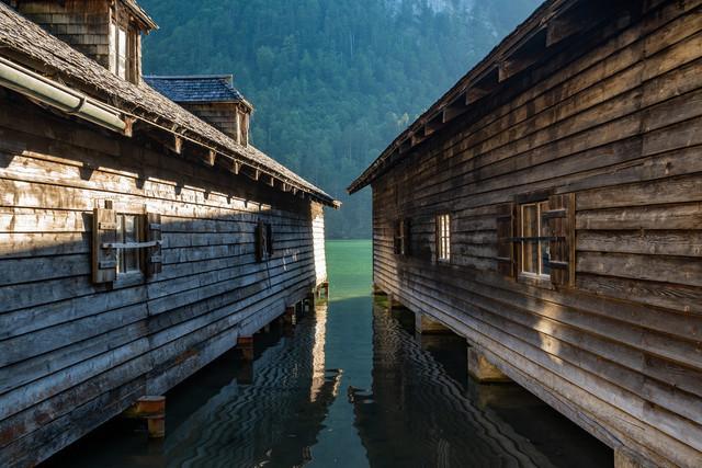 Hütten am Königssee