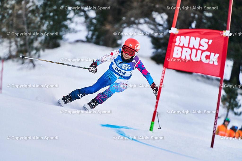 ALS5471_WWMG_GS-II_C | (C) FotoLois.com, Alois Spandl, WinterWorldMastersGames 2020 Innsbruck, Giant Slalom-II Gruppe C Damen, Patscherkofel Olympiaabfahrt, Mi 15. Jänner 2020.