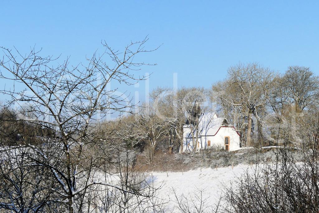 Weinfelder Kapelle im Winter | Weinfelder Maar, Daun, Vulkaneifel