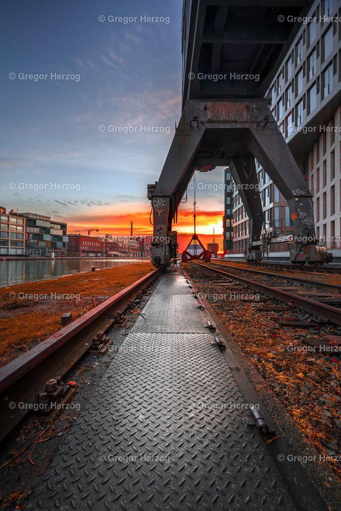 Hafen im Comicstyle | Unser schöner Stadthafen erwacht aus dem Schlaf.