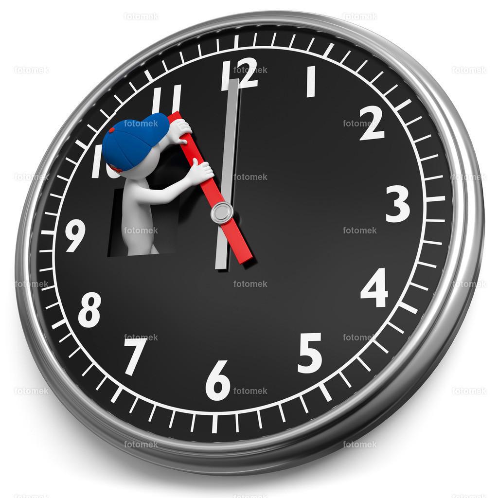 Uhr eine Stunde zurückstellen