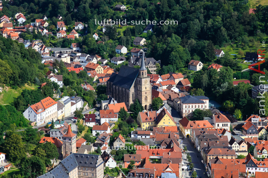 kirche-kulmbach-2009-1472 | Luftbild von Kirche Kulmbach - Luftaufnahme wurde 2009 von https://frankenair.de mittels Flugzeug (keine Drohne) erstellt - die Geschenkidee