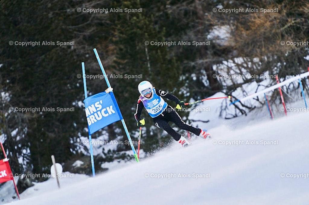 ALS5475_WWMG_GS-II_C | (C) FotoLois.com, Alois Spandl, WinterWorldMastersGames 2020 Innsbruck, Giant Slalom-II Gruppe C Damen, Patscherkofel Olympiaabfahrt, Mi 15. Jänner 2020.