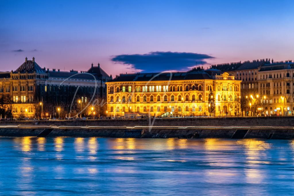 Donau | An der Donau in Budapest