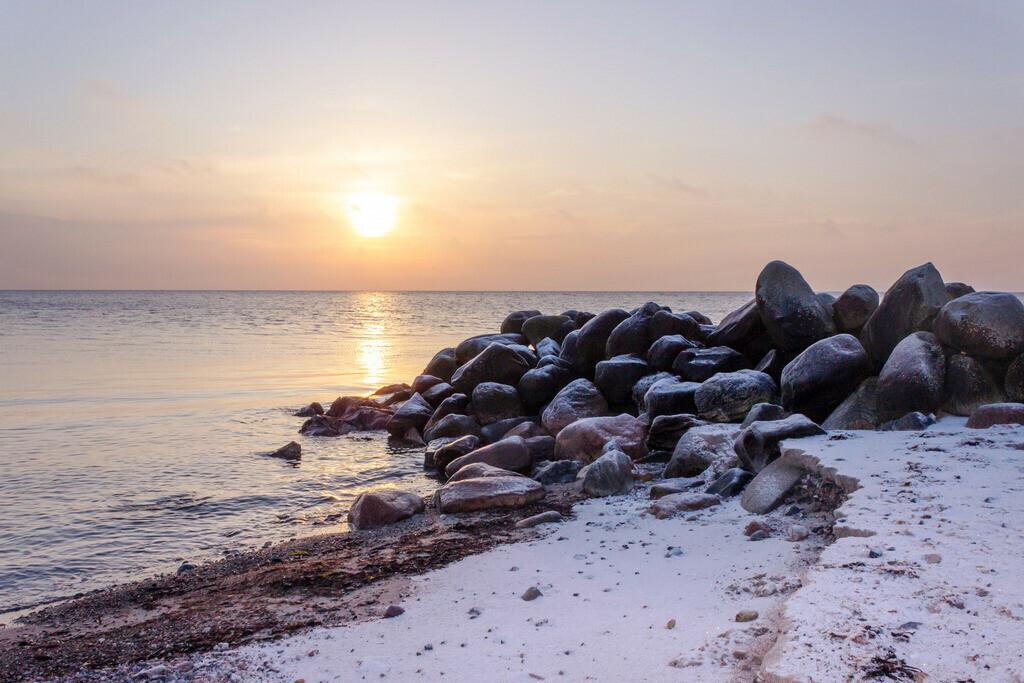 Sonnenaufgang an der Ostsee | Sonnenaufgang am verscheiten Strand in Damp